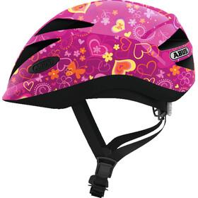 ABUS Hubble 1.1 casco per bici Bambino rosa